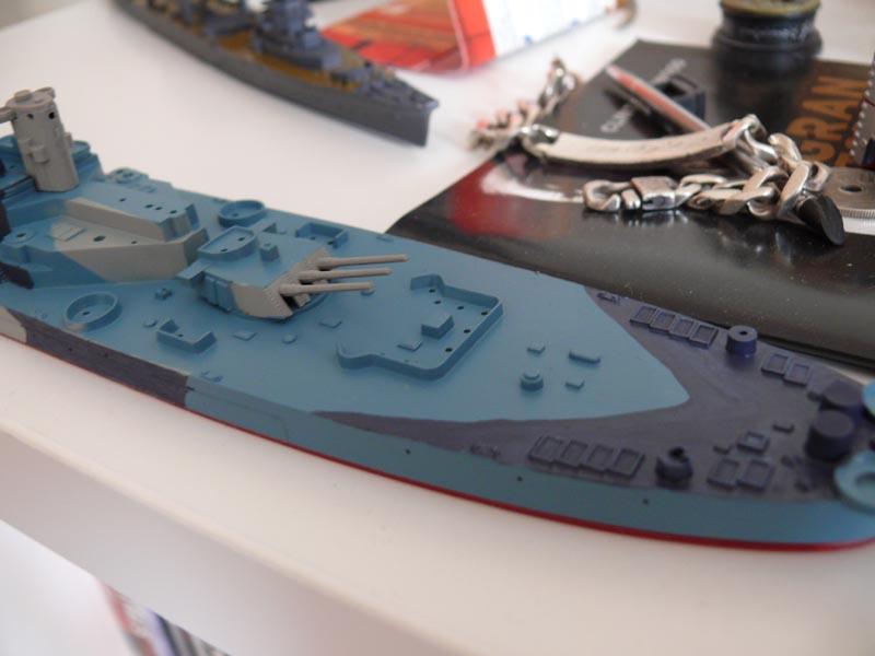 USS Missouri 1943 1/700 Fujimi - Page 2 Missou44
