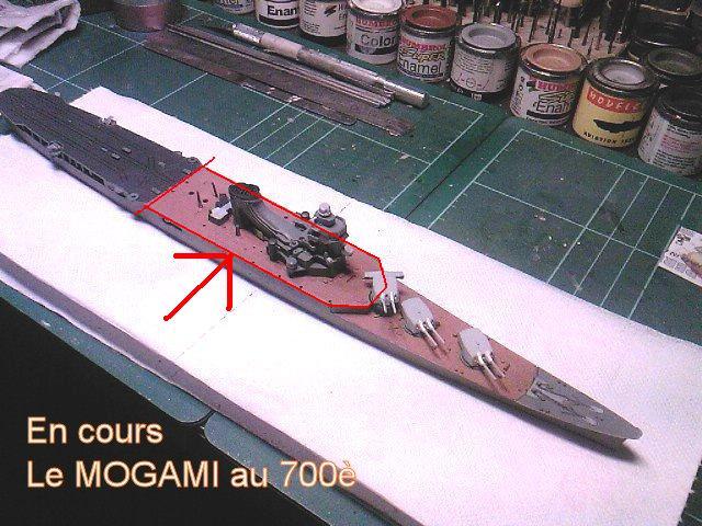 Le MOGAMI : Croiseur Japonais transporteur d'hydravions au 700ème Mogami10