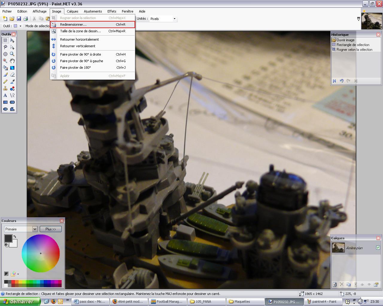 paint*[/url - TUTO : Comment réduire une photo pour le forum avec paint.net Paintn14