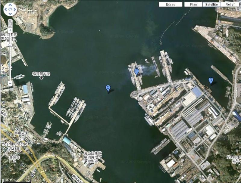Diorama base navale de la Republique FlashBoatienne 1/700 Yokosu10