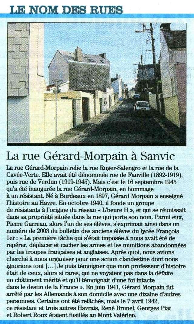 SANVIC - Sanvic - Rue Gérard-Morpain 2009-019