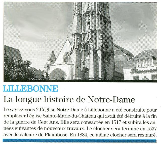 Lillebonne - La longue histoire de Notre-Dame 2009-021