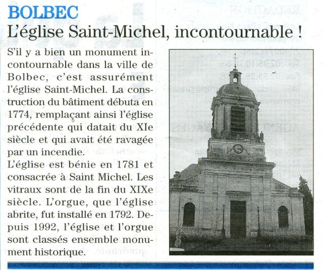 bolbec - Bolbec - L'église Saint-Michel 2009-024