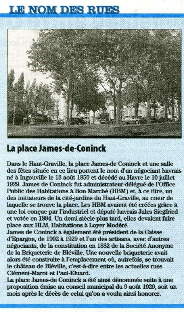 bléville - Le Havre - Place James de Coninck 2009-113