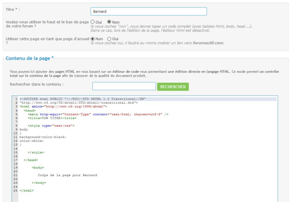 *RESOLU* [PHPBB3] un code bien cordonné 0000110