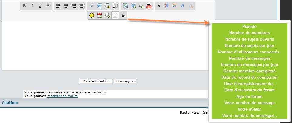 [PHPBB3]Afficher la majeure partie des variables avec un bouton sur l'éditeur 1149