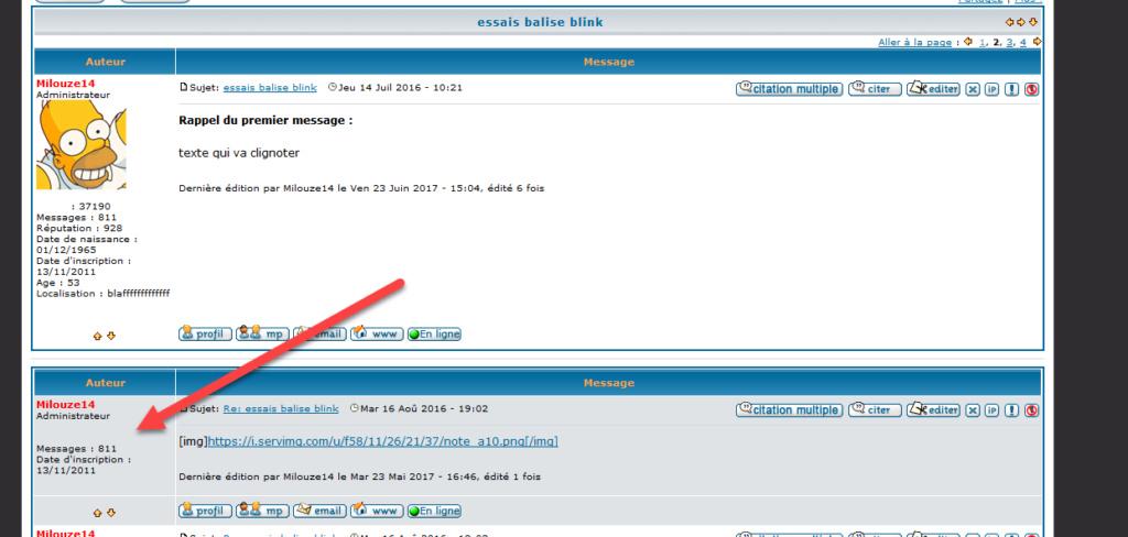 [PHPBB2]Afficher l'avatar du membre dés lors que l'on affiche le premier message 1166