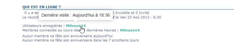 Afficher la date de la dernière visite au survol du Pseudo seulement pour les admins 1239