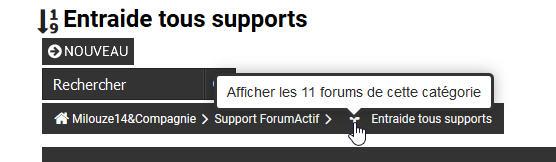 [PHPBB2] Afficher les forums de la catégorie dans la liste des sujets 124