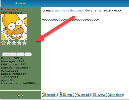 [PHPBB2] Mettre une couleur de fond dans le profil des messages 1242