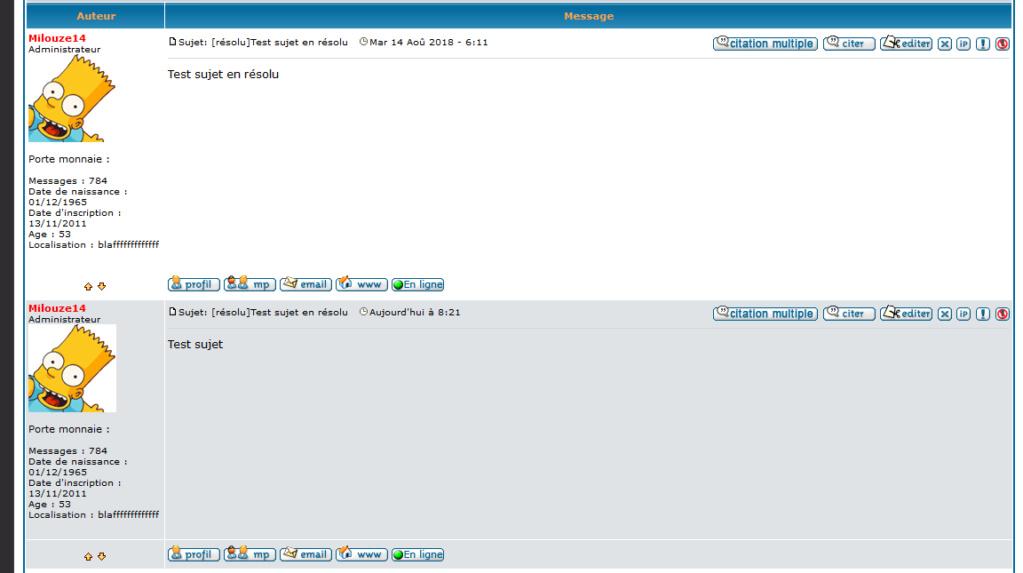 """[PHPBB2]Supprimer le tag """"Re"""" sur les messages 232"""