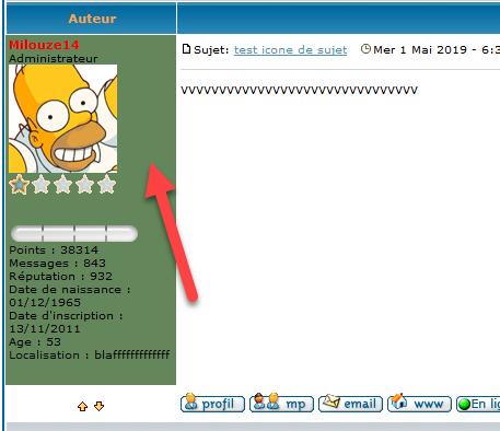 [PHPBB2] Mettre une couleur de fond dans le profil des messages 263