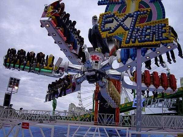 Foire du Trône le 25 avril 2009 Extrem10