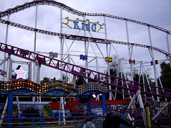 Foire du Trône le 25 avril 2009 King10
