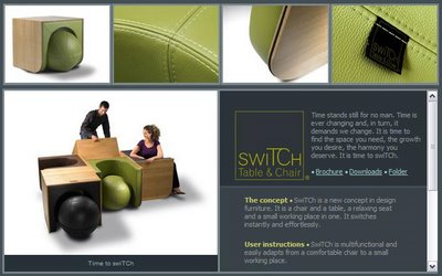 [Assise/table] Switch Table Chair by Ellen ECTORS 00173