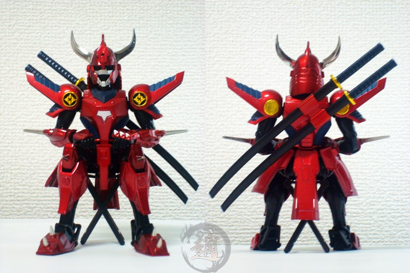Yoroiden Samurai Trooper (Les Samouraïs de l'Eternel) (Bandai) - Page 3 Ryo0610