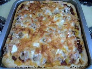 Pâte à pizza au levain KAYSER Toute_10