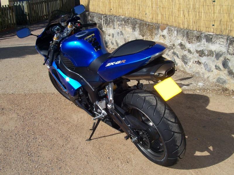 (VENDU) vend ZX6R 636 de 2006 00511