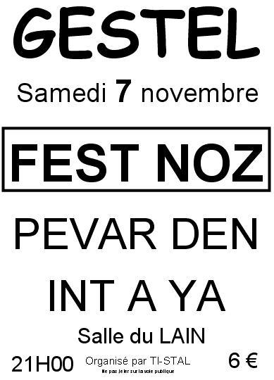 Fest Noz Gestel 07 novembre 2009 07_nov10