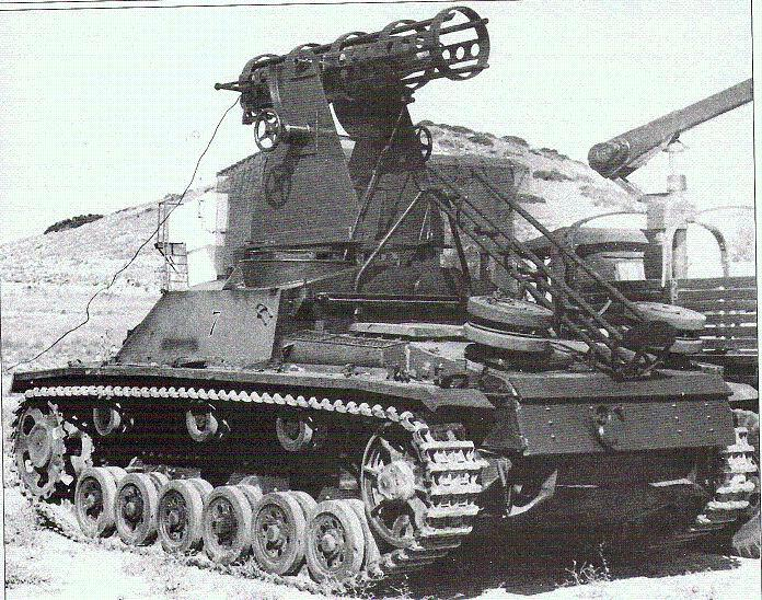 Le devenir des blindés allemands après guerre Spanis10