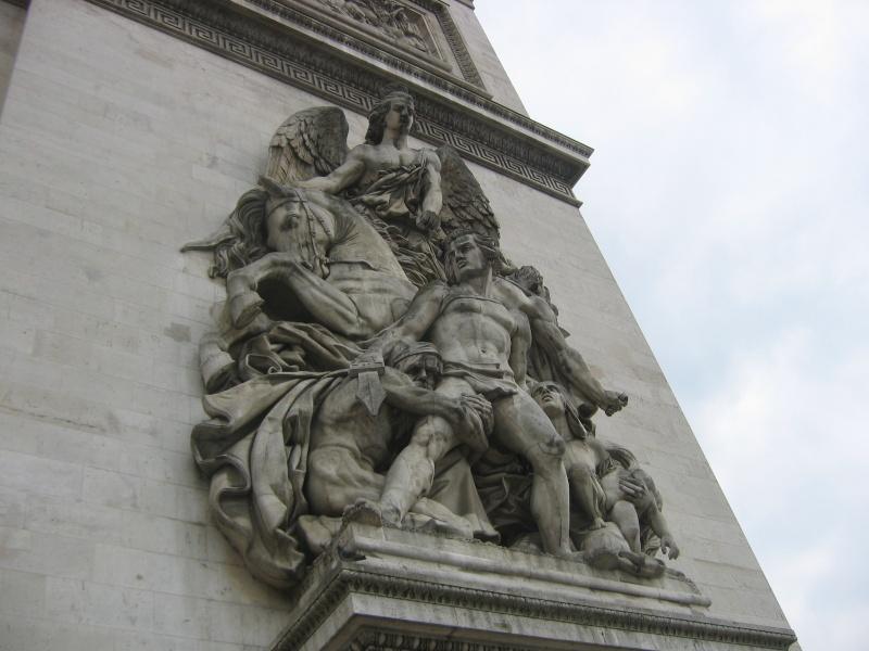 L'Arc de Triomphe...... Img_9211