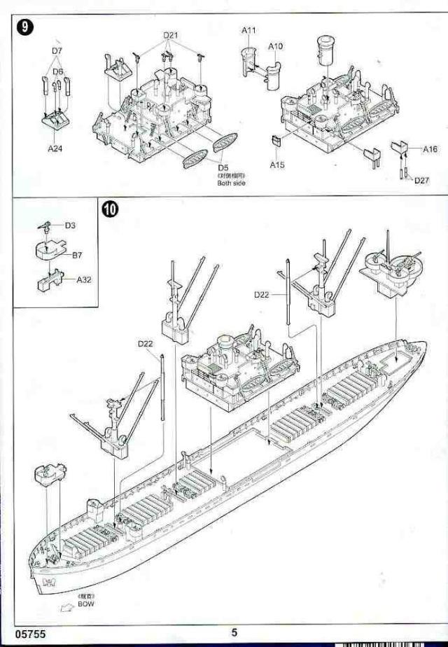 un liberty ship au 1/700 Libert20
