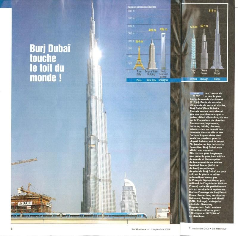 Classement des plus hauts gratte-ciel et tours du monde - Page 2 Burj_d11