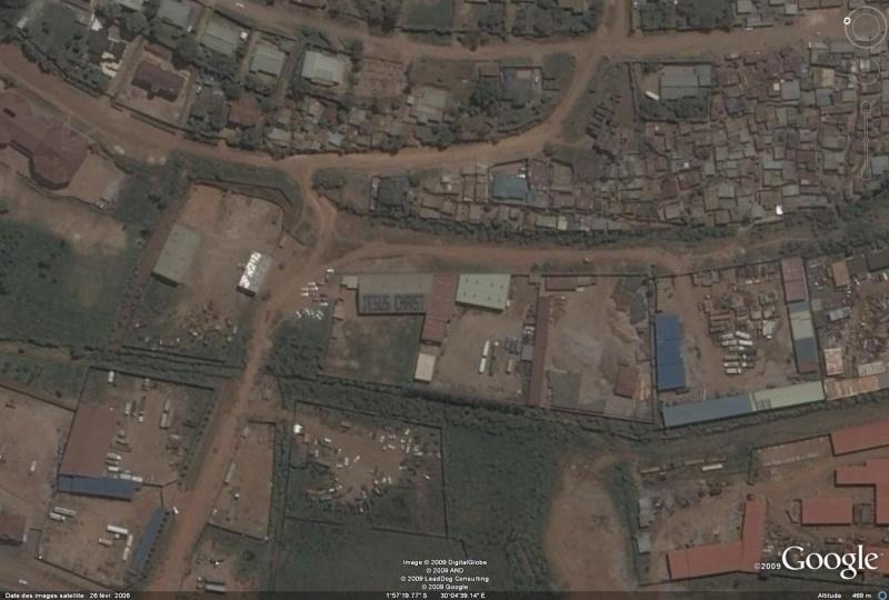 Jesus Christ écrit à Kigali, Rwanda, Afrique Jesus10