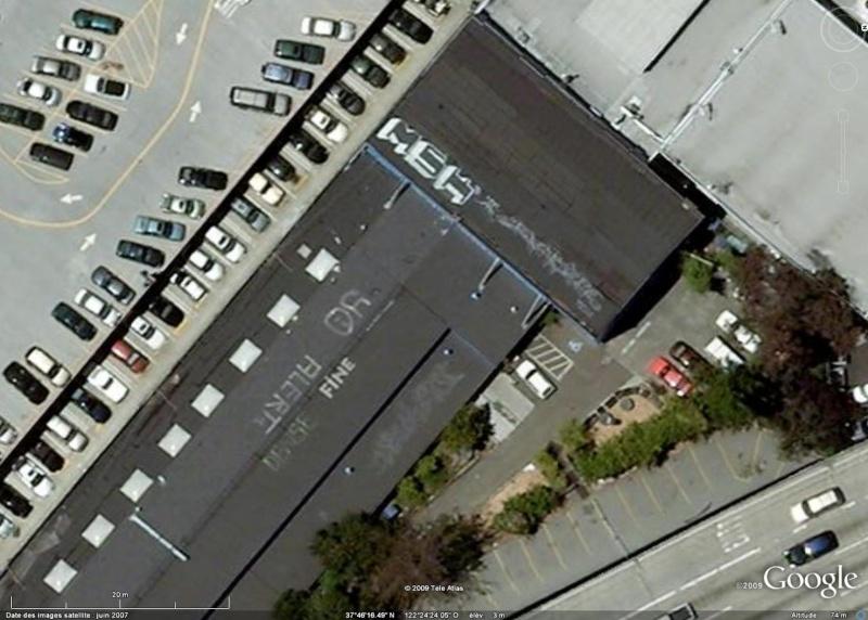 Tags sur les toits de San Francisco - Etats Unis d'Amérique Msh10