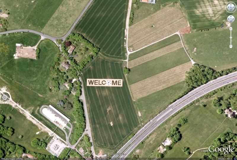 Welcome, Colovrex, Genève, Suisse, Europe (image disparue de GE) Welcom11
