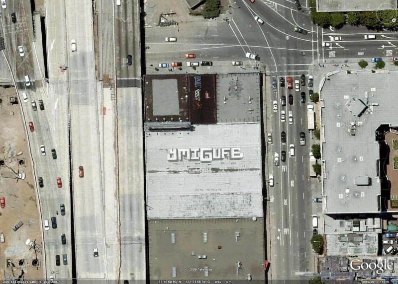 Tags sur les toits de San Francisco - Etats Unis d'Amérique Ymiguf10