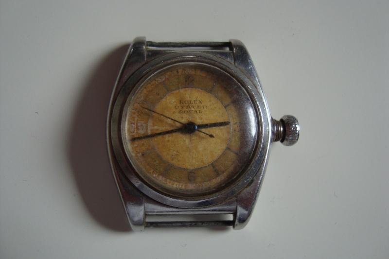J'ai trouvé ça chez mon papy hier, mais qu'en faire... Rolex inside... Dsc00416