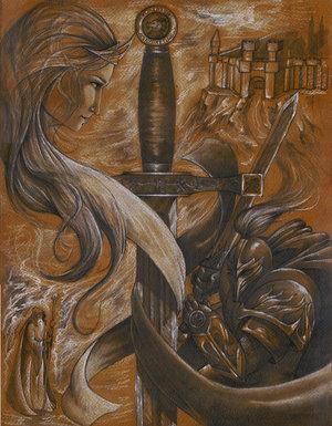 Illustrations de personnages des légendes Arthuriennes Arthur10