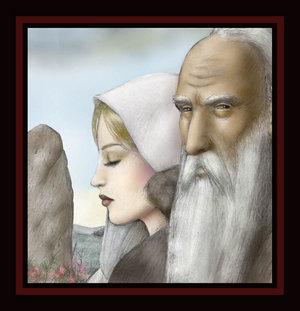 Illustrations de personnages des légendes Arthuriennes Asteri10