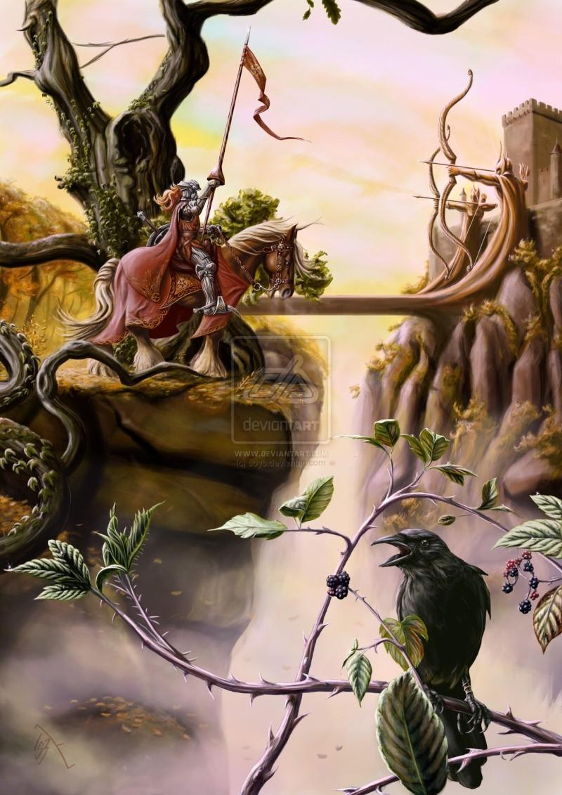Illustrations de personnages des légendes Arthuriennes Le_cha11