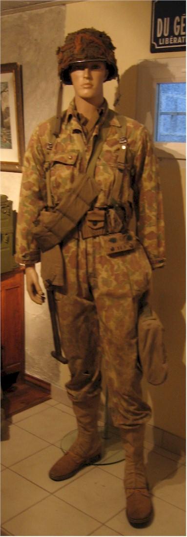 herringbone twill camouflage jungle suit Camo10
