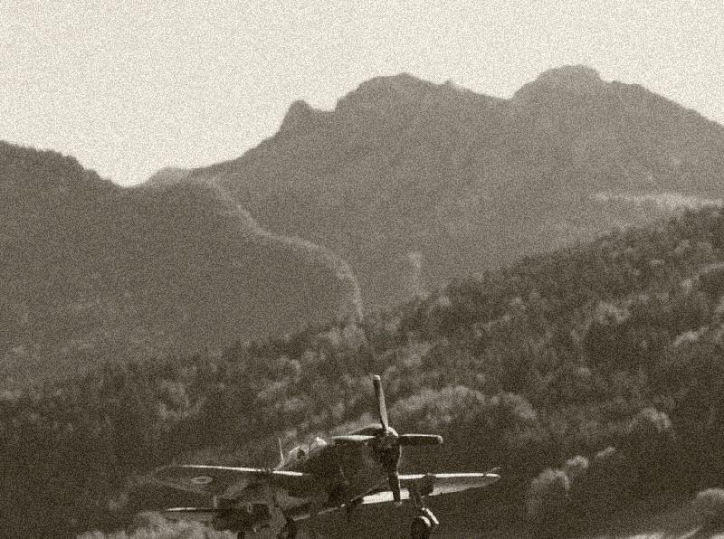 [Academy] P-47D Razorback Escadrille Lafayette 194510