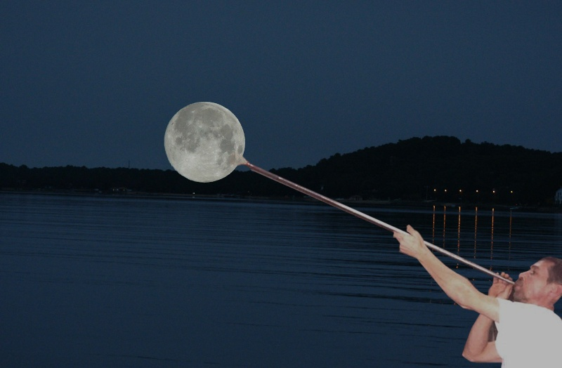 """Défi """"fil rouge"""" : Trompe l'oeil avec la Lune Kirzdo10"""