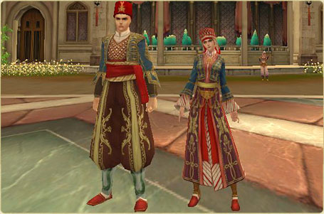 3.17 New Avatar Item 'Turkey traditional Outfit' 117