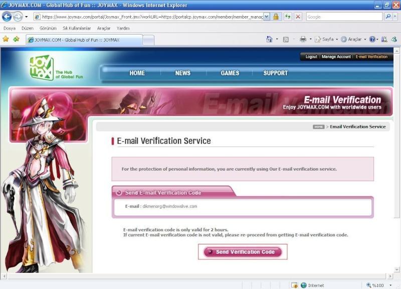 Charlara e-mail koruması yapılması [Resimli anlatım] B10