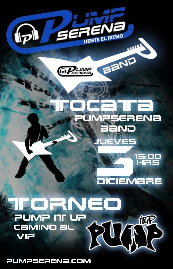 """Torneo pump it up y tocata """"pumpserena band"""" Afiche16"""