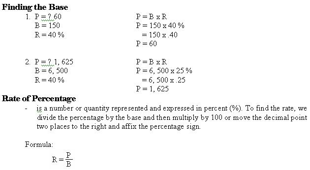 BUSINESS MATHEMATICS - Page 2 Math2410