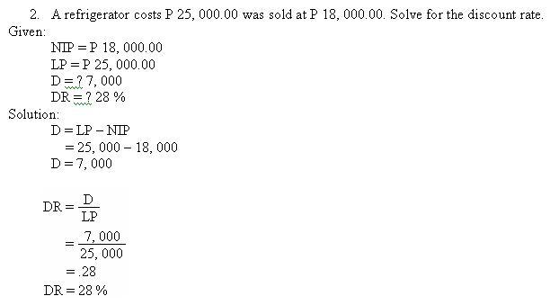 BUSINESS MATHEMATICS - Page 3 Math4310