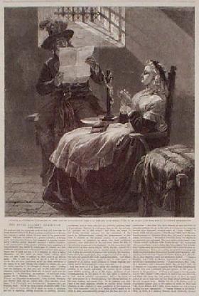 La Conciergerie : Marie-Antoinette dans sa cellule. 002roy10