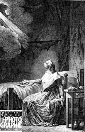 La Conciergerie : Marie-Antoinette dans sa cellule. 3346-110