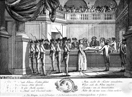 Le procès de Marie-Antoinette: images et illustrations - Page 3 3346-910