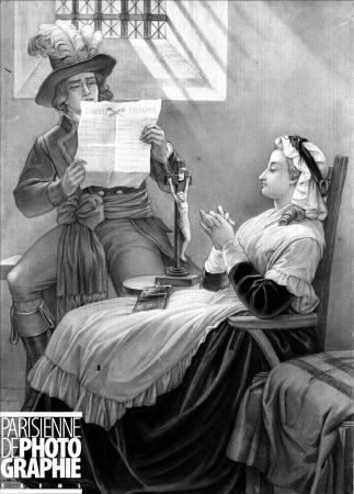 La Conciergerie : Marie-Antoinette dans sa cellule. 3349-110