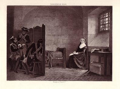 La Conciergerie : Marie-Antoinette dans sa cellule. 4020-210