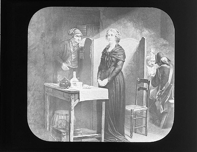 La Conciergerie : Marie-Antoinette dans sa cellule. Concie11