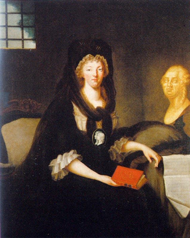 La Conciergerie : Marie-Antoinette dans sa cellule. Dernie13